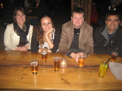 Sonja, Irina, Jahn og Terje