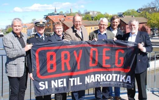 Pressebilde fra Tønsberg forrige uke